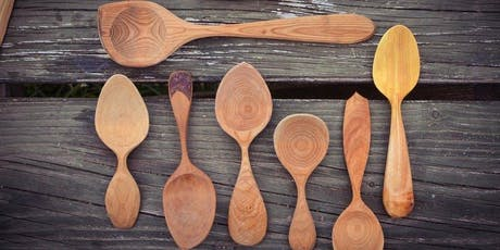 Wooden Spoon Carving Workshop - With Jeffrey Hart - Christmas Fair Special tickets