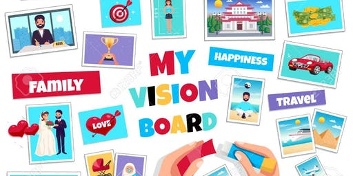 "Yoga & Vision Board Workshop: ""Where Focus Goes, Energy Flows"""