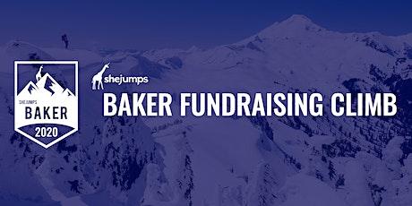 SheJumps Baker Fundraising Climb + Ski 2020 tickets