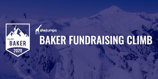 SheJumps Baker Fundraising Climb + Ski 2020