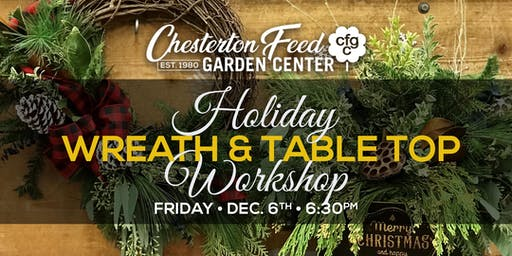 Wreath & Table Top Arrangement Workshop