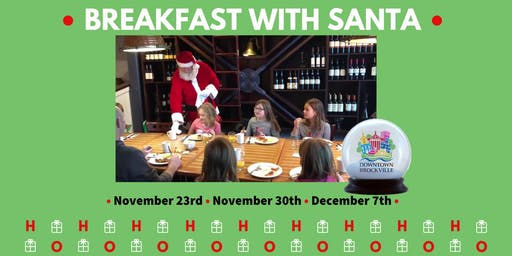 Breakfast with Santa at Moose McGuire's