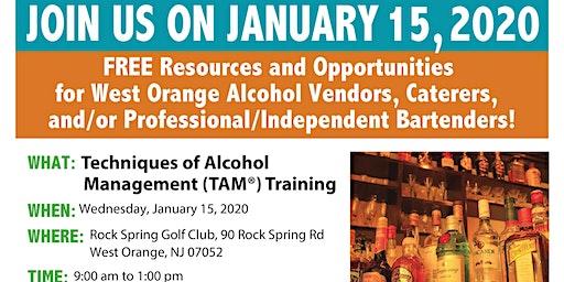 West Orange Techniques of Alcohol Management (TAM) Training