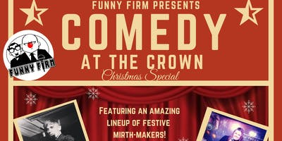 Comedy at the Crown Christmas Special