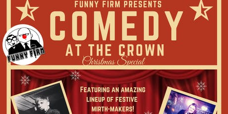 Comedy at the Crown Christmas Special tickets