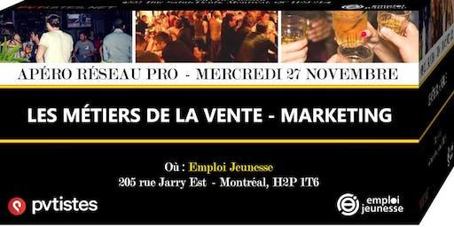 Apéro Réseau Pro - Les métiers de la vente - Marketing