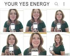 Your Yes Energy- Marina Eleveld  logo