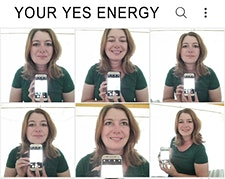 Your Yes Energy- Marina Eleveld  logo
