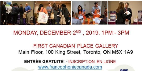 TORONTO EXPRESS BILINGUAL JOB FAIR – December 2nd, 2019 tickets