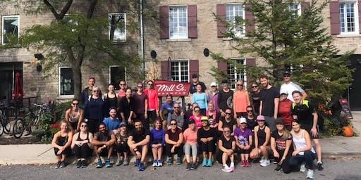 Mill Street Milers run club - the NEWvember run