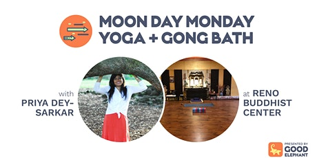 Moon Day Monday Yoga & Gong Bath tickets