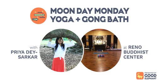 Moon Day Monday Yoga & Gong Bath