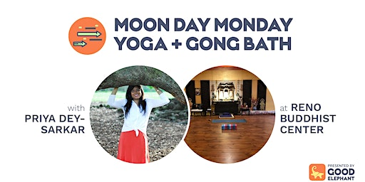 Moon Day Monday Yoga & Gong Bath