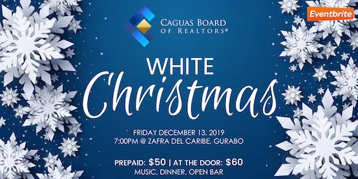 White Christmas by Caguas Board of REALTORS® ❄️