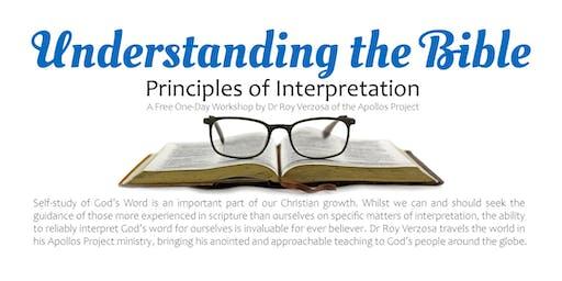 Understanding the Bible: Principles of Interpretation