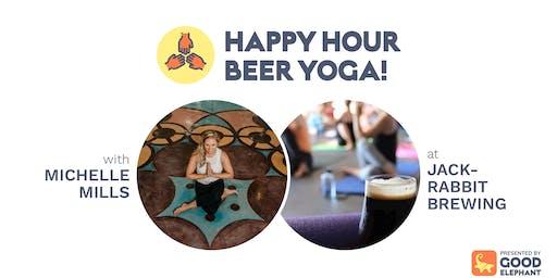 Happy Hour Beer Yoga!