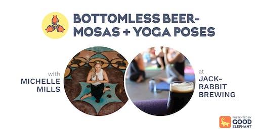 Bottomless Beermosas & Yoga Poses