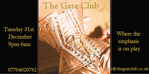The Gate Club New Years Eve Party 31st December