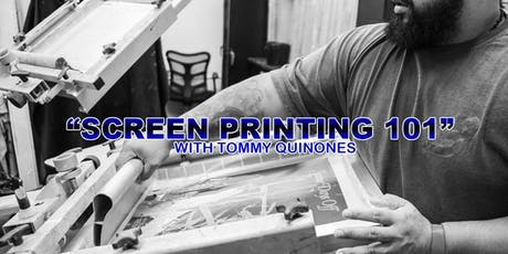 Screen Printing 101 tickets