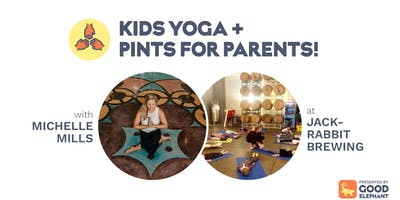 Kids Yoga + Pints for Parents!