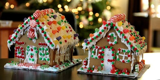 Gingerbread House Decorating - presented by Cynthia Baer