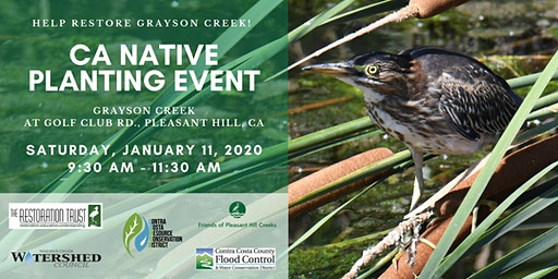 Grayson Creek Native Planting Event