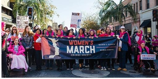 2020 Orange County Women's March