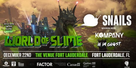 Snails World of Slime Tour Fort Lauderdale tickets