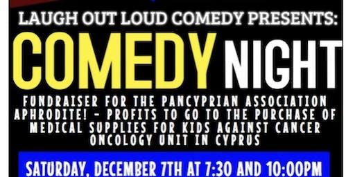 Comedy Night- Fundraiser for Pancyprian Association Aphrodite