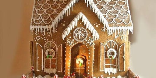 A Gingerbread Christmas at The Hudson Manor, Louisburg NC
