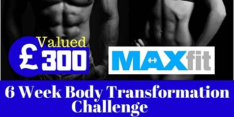 WIN 6 WEEKS FREE BODY TRANSFORMATION COACHING tickets