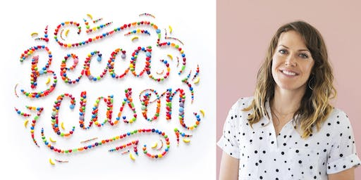 Creative Speak with Becca Clason: Keeping Letters and a Career in Motion
