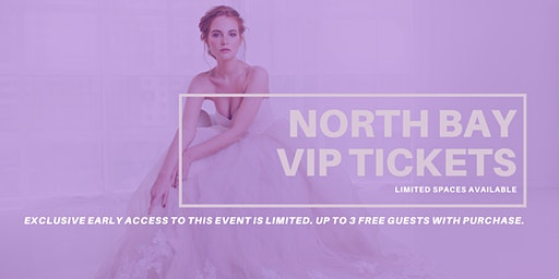 Opportunity Bridal VIP Early Access North Bay Pop Up Wedding Dress Sale