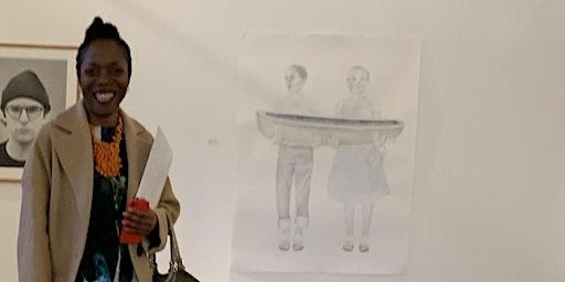 Trinity Buoy Wharf Drawing Prize:  Drawing Memories with Charmaine Watkiss