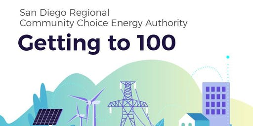 San Diego Regional Community Choice Energy Authority: Getting to 100