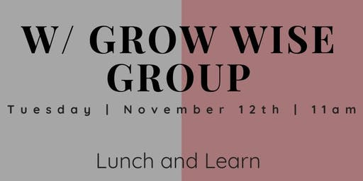 Credit Repair with Grow Wise Group Lunch & Learn