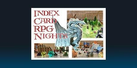 Index Card RPG Nights