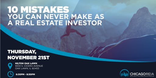 10 MISTAKES You Can NEVER Make  As a Real Estate Investor