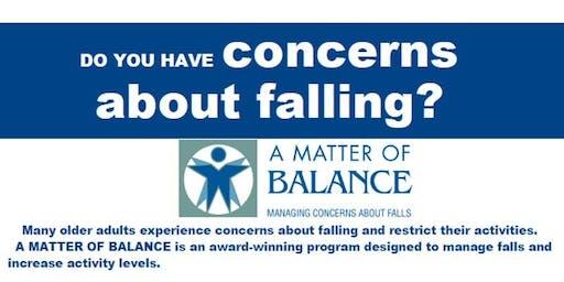 A Matter of Balance Lay Leader Instructor Class