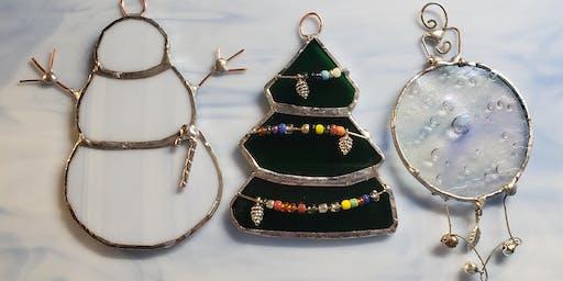Christmas Ornaments- Ball, Tree , Snowman!