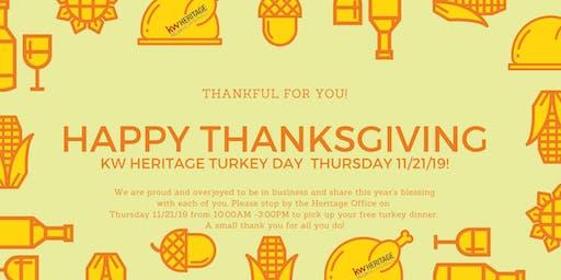 KW Heritage Turkey Day