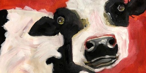 Paint Night - Funky Cow - relax, paint,  sip, take home your masterpiece!