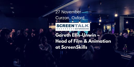ScreenTalk Oxfordshire Networking Event for Film, TV and Media
