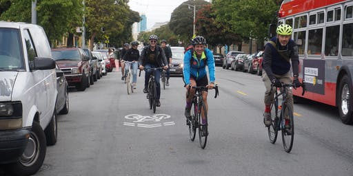 SF Bicycle Coalition Sharing City Streets Class