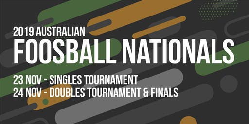 2019 Australian Foosball Nationals