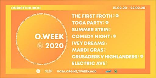 UCSA O.Week 2020   Combo Tickets