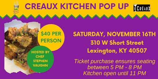 Creaux Kitchen Pop Up