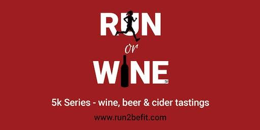 Run or Wine 5k, January 2020