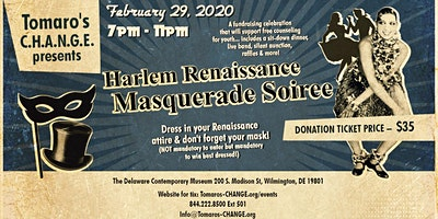 TC Presents ~ Harlem Renaissance Masquerade Soiree