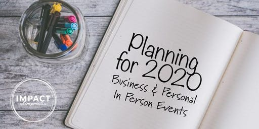 Planning for 2020 - Personal & Business